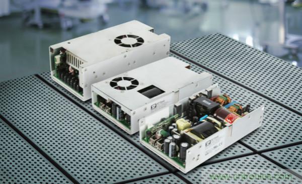 XP Power推出新款500W-650W AC-DC电源,满足医疗设备应用