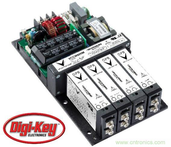 Vox Power全系列用户可配置电源通过Digi-Key面向全球发售