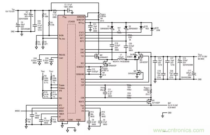 如何选择一款功能强大、宽输入范围的电池充电器?