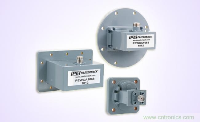 Pasternack推出MIL-DTL-22641规格的铝制波导同轴转接头新产品