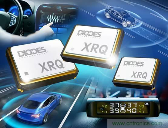 Diodes Incorporated 高可靠性石英晶体可承受汽车应用的严苛环境