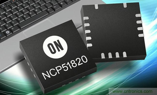 """安森美的NCP51820高速氮化镓(GaN)门极驱动器在中国获2019年度""""Top10电源产品奖"""""""