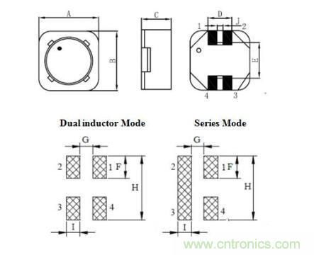 贴片共模电感选型与封装