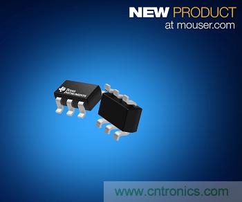 贸泽开售Texas Instruments TPS3840 Nanopower电压监控器