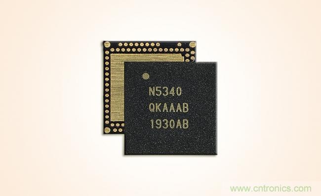 Nordic Semiconductor推出Arm Cortex-M33双核处理器无线SoC