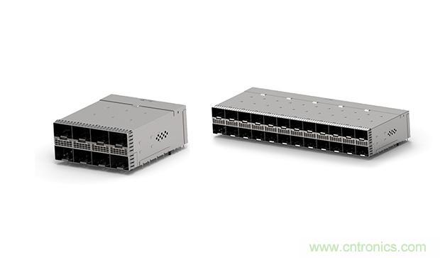 TE推出新型zSFP+堆叠式Belly-to-Belly连接器