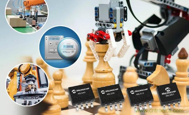 Microchip全新EERAM存储器解决方案,可降低存储器成本并在断电时提供数据保护