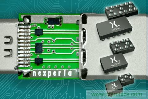 Nexperia推出支持最高传输速度的共模滤波器