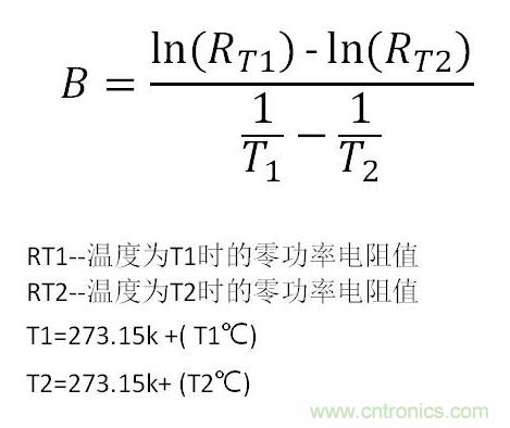 热敏电阻应用与参数详解