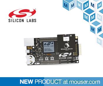 Silicon Labs xGM210P无线Gecko模块入门套件在贸泽开售