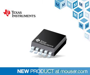 贸泽备货具有内部电压基准的TI低功耗DACx0501 DAC