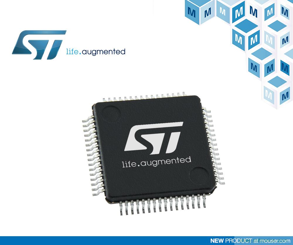贸泽开售STMicroelectronics STM32L5超低功耗MCU