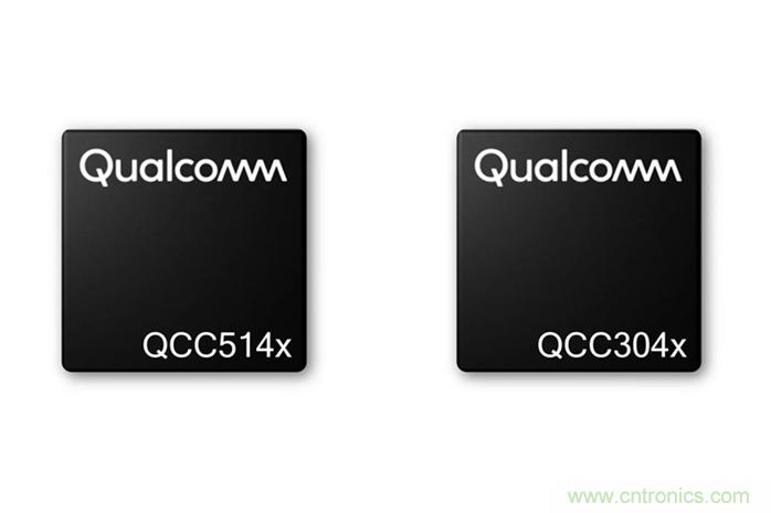 高通推出两款新型蓝牙芯片—QCC514x和QCC304x SoC