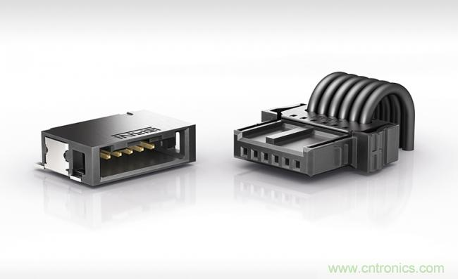 ERNI推出用于汽车行业的MicroBridge电缆对板连接器