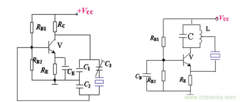 石英晶体振荡器类型及特点