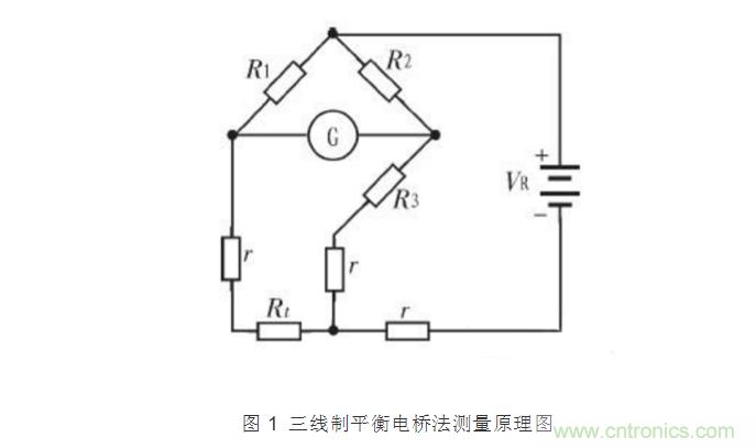 热电阻测量电路常用三线制电桥的原因