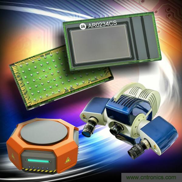安森美推出高性能CMOS全局快门图像传感器用于机器视觉和混合实境应用