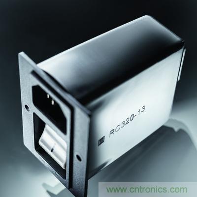 SCHURTER推出电源输入模块(PEM)、电源插座后防护罩新型RC320