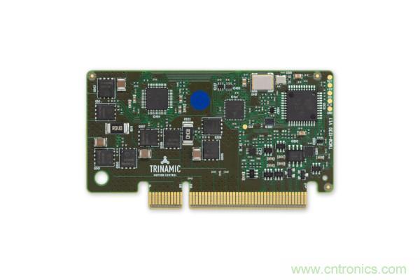 Maxim推出Trinamic嵌入式运动控制模块,用于驱动大功率工业电机
