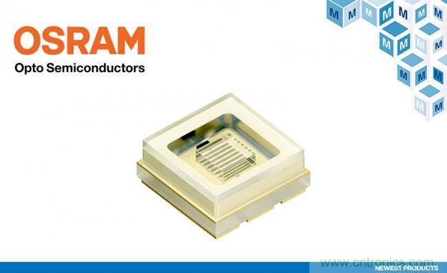 贸泽电子开售Osram首款UV-C LED Oslon UV 3636