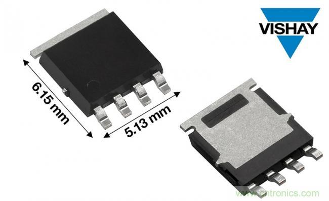 Vishay推出全球先进的汽车级80 V P沟道MOSFET--SQJA81EP