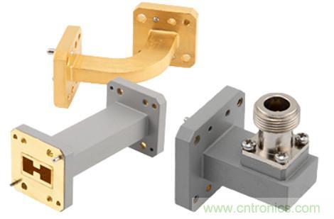 Pasternack推出双脊波导组件的新产品系列,可当天发货
