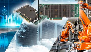 Microchip NVMe和24G SAS三模式RAID和HBA存储适配器量产