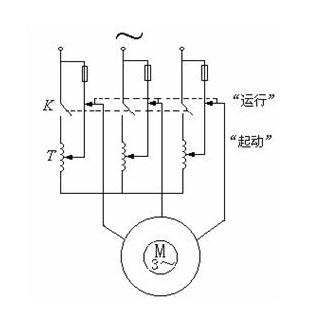 自耦变压器原理图 自耦变压器的工作原理