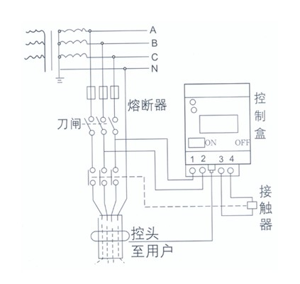 漏电保护器接线图 - 行空天马的日志