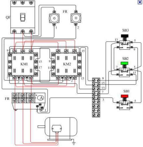 热继电器接线图