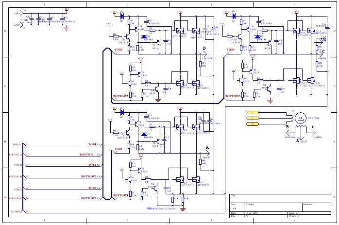 电动自行车电路图和充电器电路图