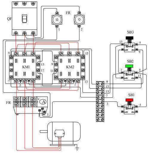 交流接触器接线图