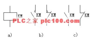 交流接触器符号