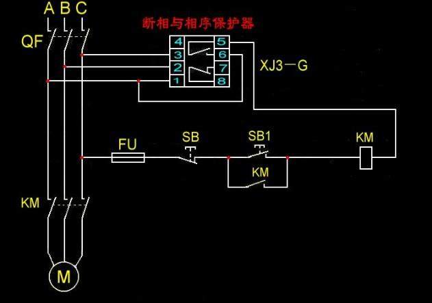 继电器或可控硅输出的电作为控制三相.