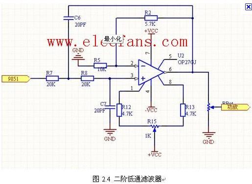 有源二阶低通滤波器计算(二节RC网路)电路原理Sj3838电子-技术资料-电子元 件-电路图-技术应用网站-基本知识-原理-维修-作用-参数-电子元器件符号 Sj3838电子-技术资料-电子元件-电路图-技术应用 网站-基本知识-原理-维修-作用-参数-电子元器件符号 截止频率Sj3838电子-技术资料-电子元件-电路图-技术应用 网站-基本知识-原理-维修-作用-参数-电子元器件符号 Sj3838电子-技术资料-电子元件-电路图-技术应用网站-基本知识-原理-维修 -作用-参数-电子元器件符号 频率低于