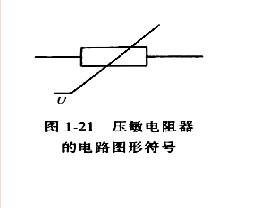 压敏电阻符号