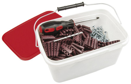 RS 4件 塑料,钢 螺钉/螺栓套件