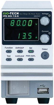360W 1输出 数字 台式电源, 0 至 30V输出, 0 至 36A输出