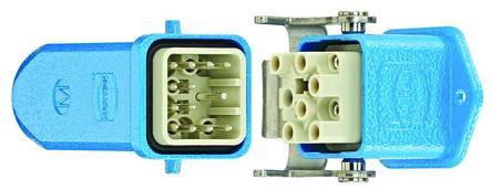 Han Ex系列 压接连接器套件 12 针 插座/插头